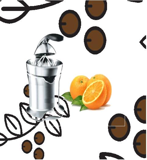 Súper Orange Exprimidor