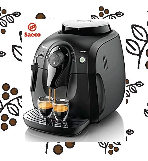 Saeco Capuchinera Dispensadora de Café Superautomática con Molino de Café incorporado